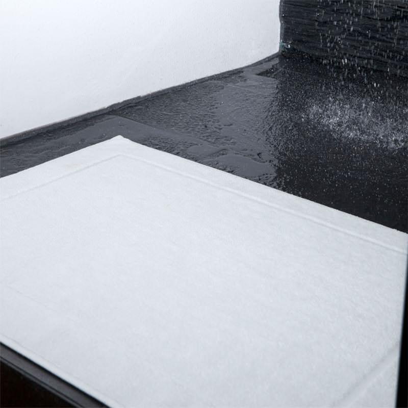 badevorleger zwirnfrottier anti rutsch  5070 cm